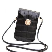 Винтажная ультратонкая Женская мини-сумка через плечо, модная сумка через плечо, повседневный магазин, портмоне, сумка для сотового телефон...(Китай)