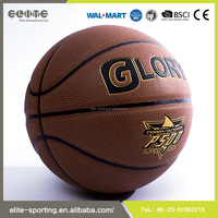 2016 Hot selling synthetic leather basketball , rubber basketball size 7 , custom basketball ball