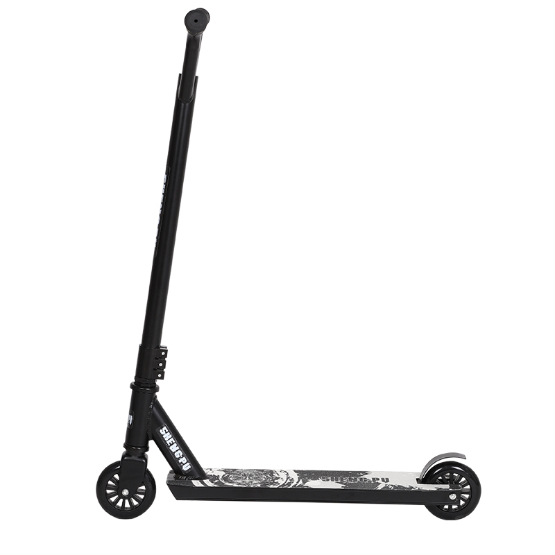 Pro spingere scooter per adulti Bianco freestyle stunt scooter