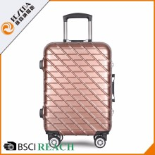 Superior Service Customized Logo ABS+PC TSA lock brand name suitcase