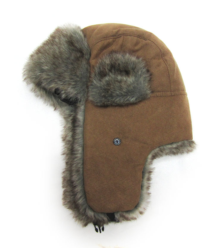 abb4dbfb65d Get Quotations · Mens Micro suede faux fur trapper hat winter hat High  Quality 2014 winter Warm Proof Women
