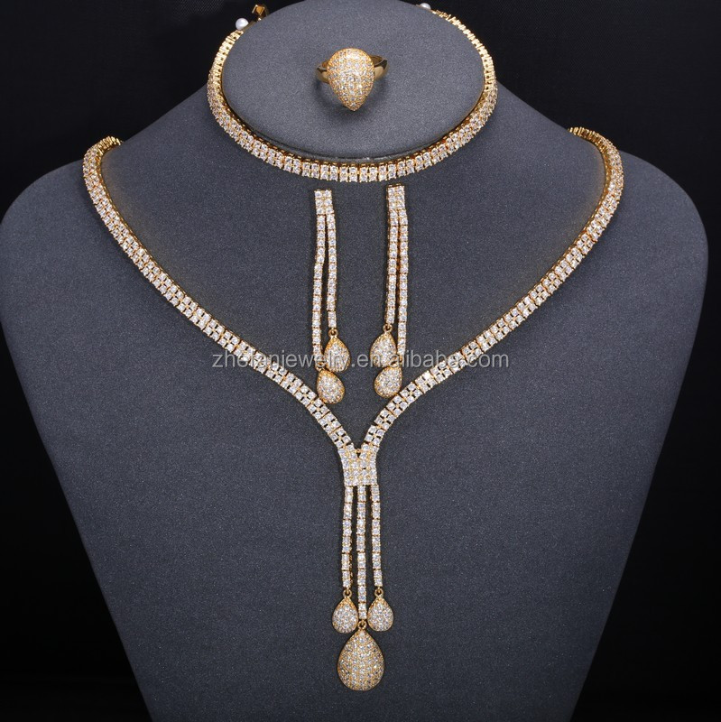 jewelry gold detail jewellery manufacturer design cheap sets chains product sale new karat women buy carat african crystal set