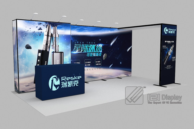 10x20 Aluminum Trade Show Booth Design For Exhibition