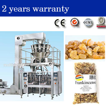 packaging systems with weighing machine for pharmaceutical factory supply herb natural libanotus/frankincense/mastic