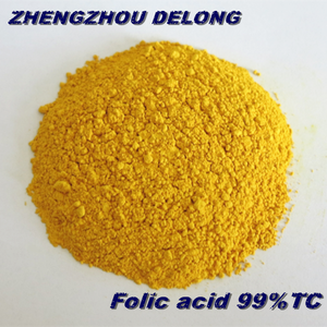Feed and Food grade High quality raw material Vitamin B9 Folic acid Manufacturers