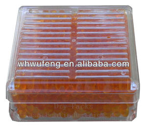 No Cobalt Chloride Silica Gel Desiccant Humidity Moisture Absorb Box