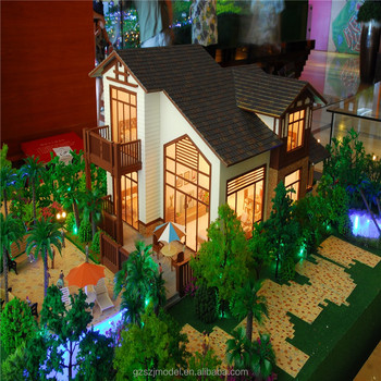 Apartment and villas house plan model with led lights - architectural  models for sale, View architectural models for sale, SZJ Brand Product  Details