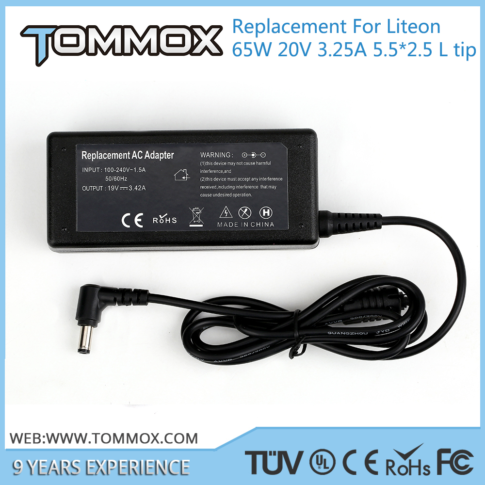 High Quality 19V 3.42A 65W 5.5*2.5 L tip laptop adapter for ASUS 90-N6APW2000 for Asus Lamborghini VX1 for Asus SW1 VBI U1E U1
