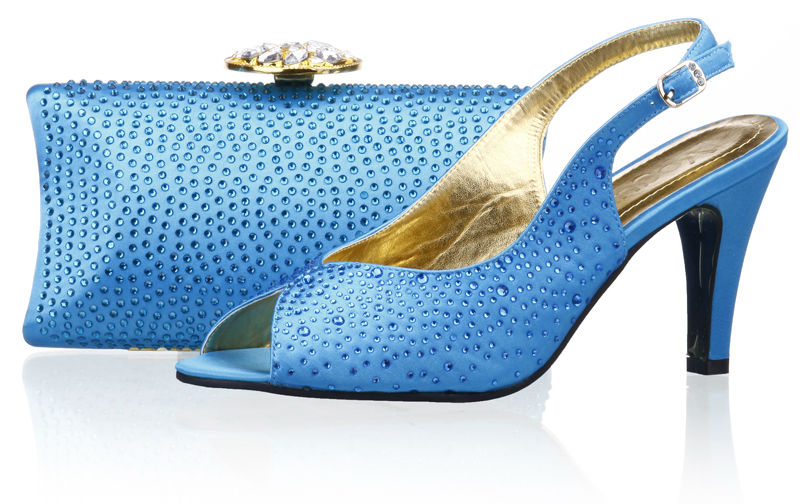 Newest fashion ladies shoes 3.5 inch,turkey blue italian shoes and matching bags,wedding shoes free shipping,SB8793