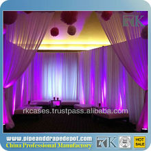 Wedding room divider curtains and drapes