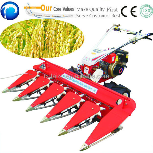 combine wheat rice reaper/sesame harvester reaper binder machine