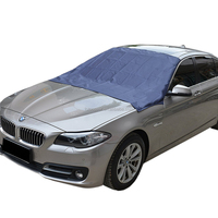 magnetic edges ice frost guard car windshield snow cover, door flaps windproof fit most car SUV Truck Van