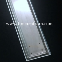 Linear Stainless Steel Tile Insert Floor Drain