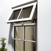 50 series aluminum profile modern upvc/aluminum tilt and turn window&doors with steel window screen