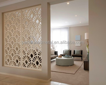 Wonderful Laser Cut Metal Room Partition