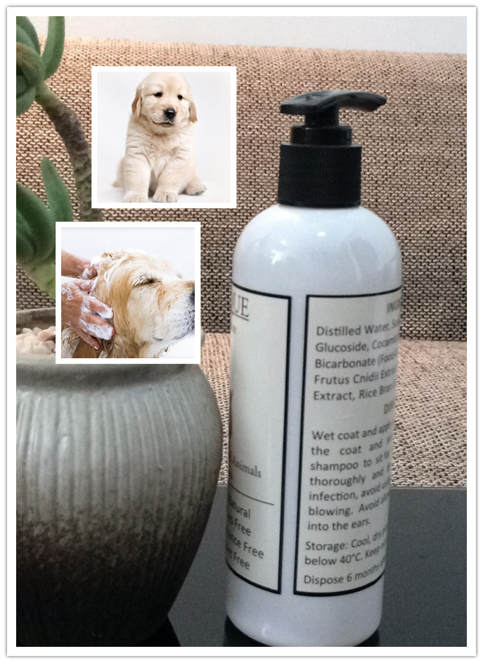 Bio Natural Pet Shampoo For Dogs & Cats