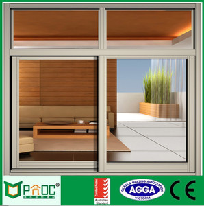 Aluminum Alloy Australian Standard Glass Window PNOC0041SLW