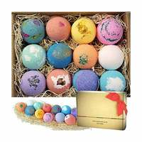 6 Salt Ball Bathing Essential Oil Bath Bomb Gift F fizzy Bath Bombs
