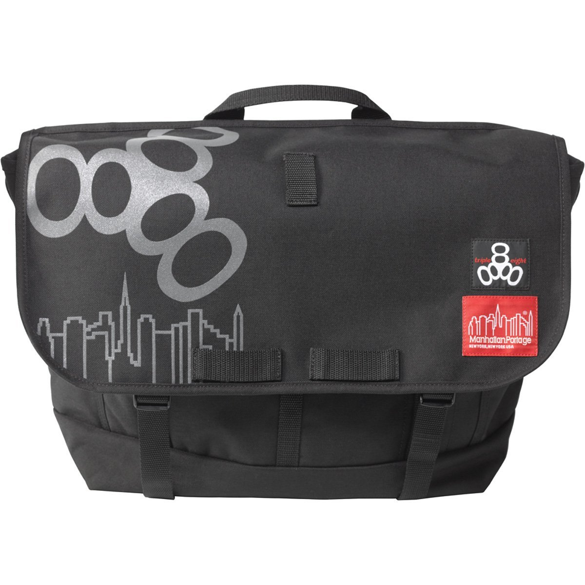 Get Quotations Triple Eight Nyc Bike Messenger Bag With Manhattan Portage Black