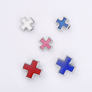 Wholesale jewelry accessory cross spacers beads