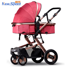 2016 mutifunction luxury baby stroller 3 in 1 with carrycot and carseat