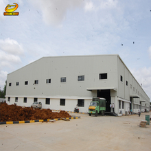 China cheapest prefabricated manufactured steel oil field warehouse