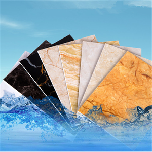 Low price 4x8 waterproof high glossy pvc marble board 3mm