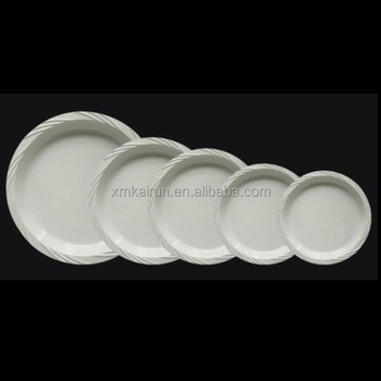 plastic disposable plates /disposable plates for wedding/disposable microwavable plates(Size 7u0026quot; & Plastic Disposable Plates /disposable Plates For Wedding/disposable ...