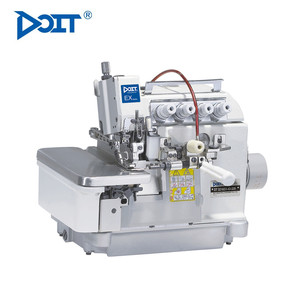 DT5214EX-43/333 DOIT 4 Thread Flat Bed Overlock Industrial Sewing Machine For Gathering Price