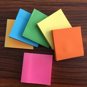 Super Sticky Notes 3 in x 3 in note pad cute sticky note pad