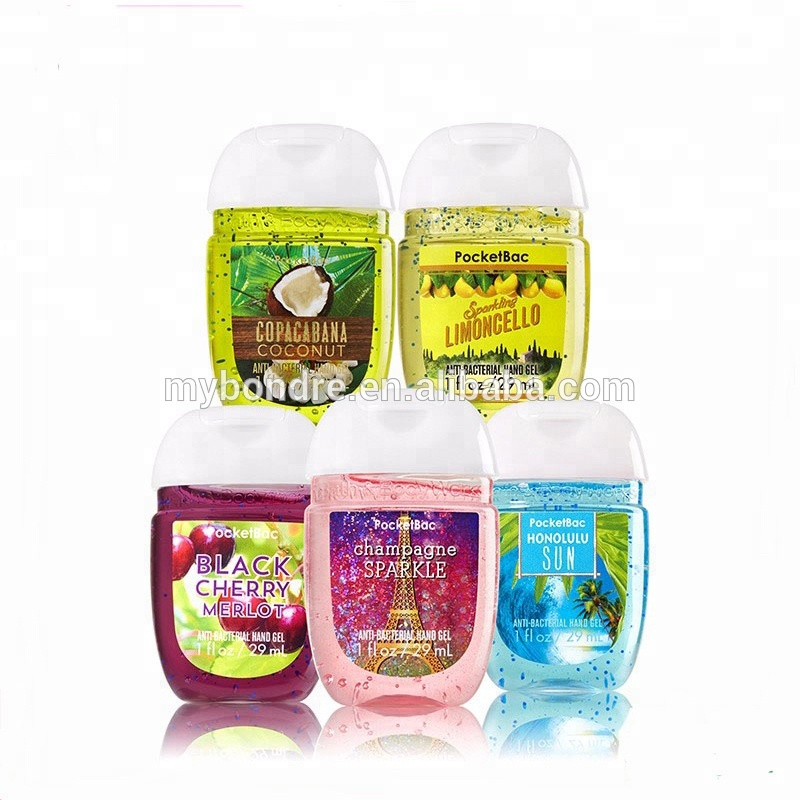 30 ml Pocketbac Waterloze antibacteriële handdesinfecterend gel