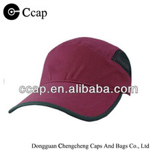 Wholesale chinlon round top mesh cap with buckle closure