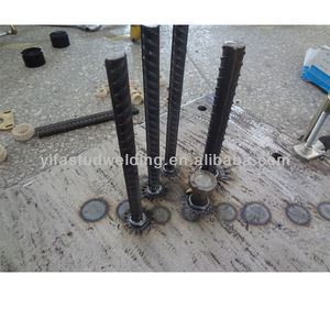 epoxy coated rebar anchor for drawn arc stud welding