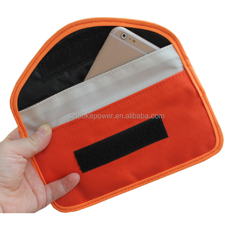 RFID Signal Blocking Bag, RFID Signal Shielding Pouch Wallet Case for Cell Phone Privacy and Car Key