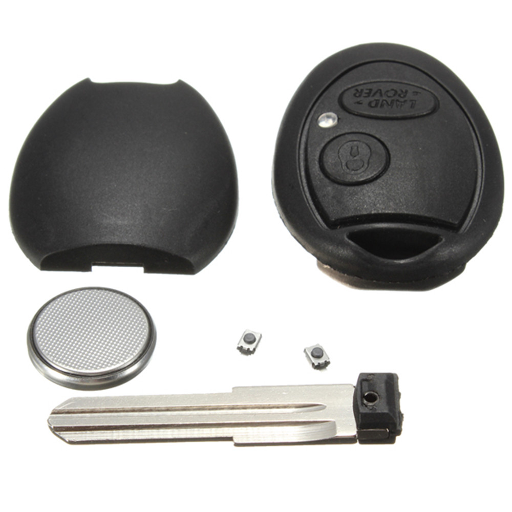 Remote Key Case Blade Switches Repair Kit For Discovery 2 TD4 TD5 75 For Land Rover