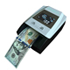 R100A US dollar in 4 orientations mini cash euro usd counting uv light currency banknote counting machine fake money detector