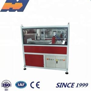 Plastic Pipe Profile Cutting Machine Making plastic pipe cutter