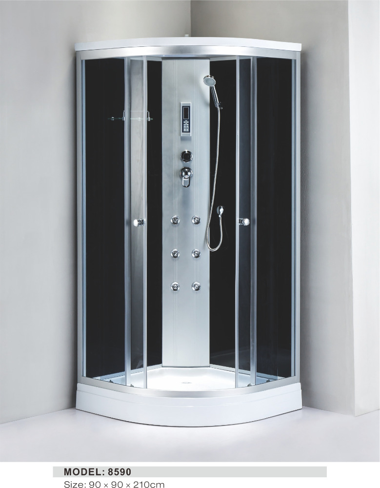 large size common wet room shower