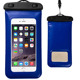 Outdoor water sports water proof cell phone cases good quality enduring pvc mobile pouch