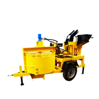 OEM manufacture diesel engine block and brick making machine