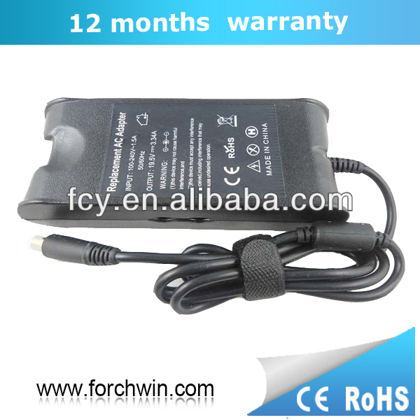 GENUINE ORIGINAL DELL LAPTOP ADAPTER FOR DELL INSPIRON 1545-8486 LAPTOP 19.5V 3.34A 65W CHARGER POWER SUPPLY PA21