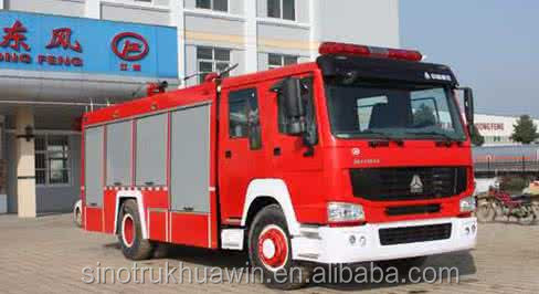 Sinotruk fire truck water capacity High Quality for sale