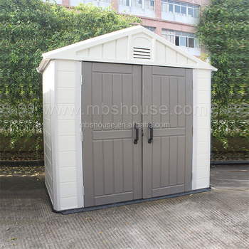 Plastic Outdoor Collapsible Storage Sheds, Garden House, Pet House