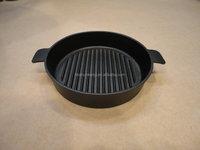 Cast iron paella pans
