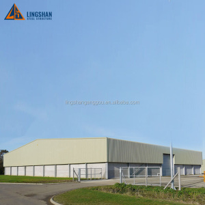 Factory Supply Prefab Steel Structure Warehouse Design
