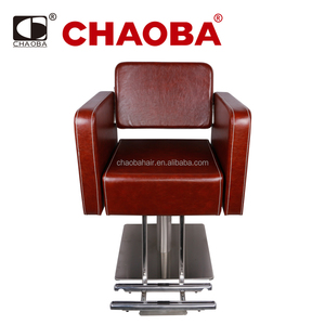 Hair Salon Styling Chairs With Footrest / Salon Furniture Wholesale SU-4057B