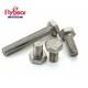 Fastener manufacturer stainless steel Hex bolt A4-80 din933 in stock 904L/724L ISO4017 bolt and nut set