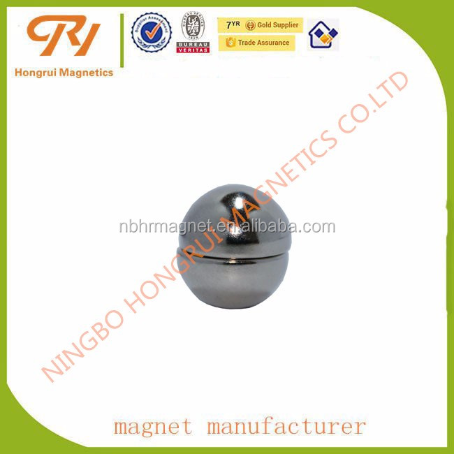 High difficulty contoured magnets N35-N52 Hemispherical shaped