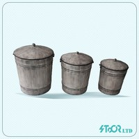 Rustic patio metal pot and planter , large outdoor pot and planter