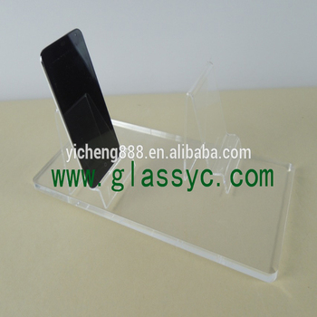 Hot Selling Cheap Price Wholesale led Acrylic Mobile Phone Display counter showcase